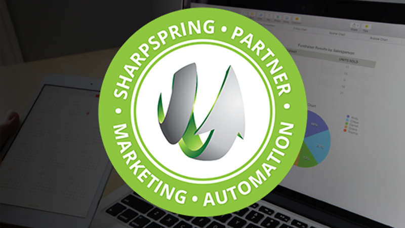 V12 Marketing is SharpSpring Certified